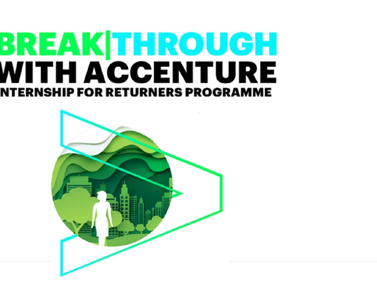 Accenture Breakthrough Returners Programme