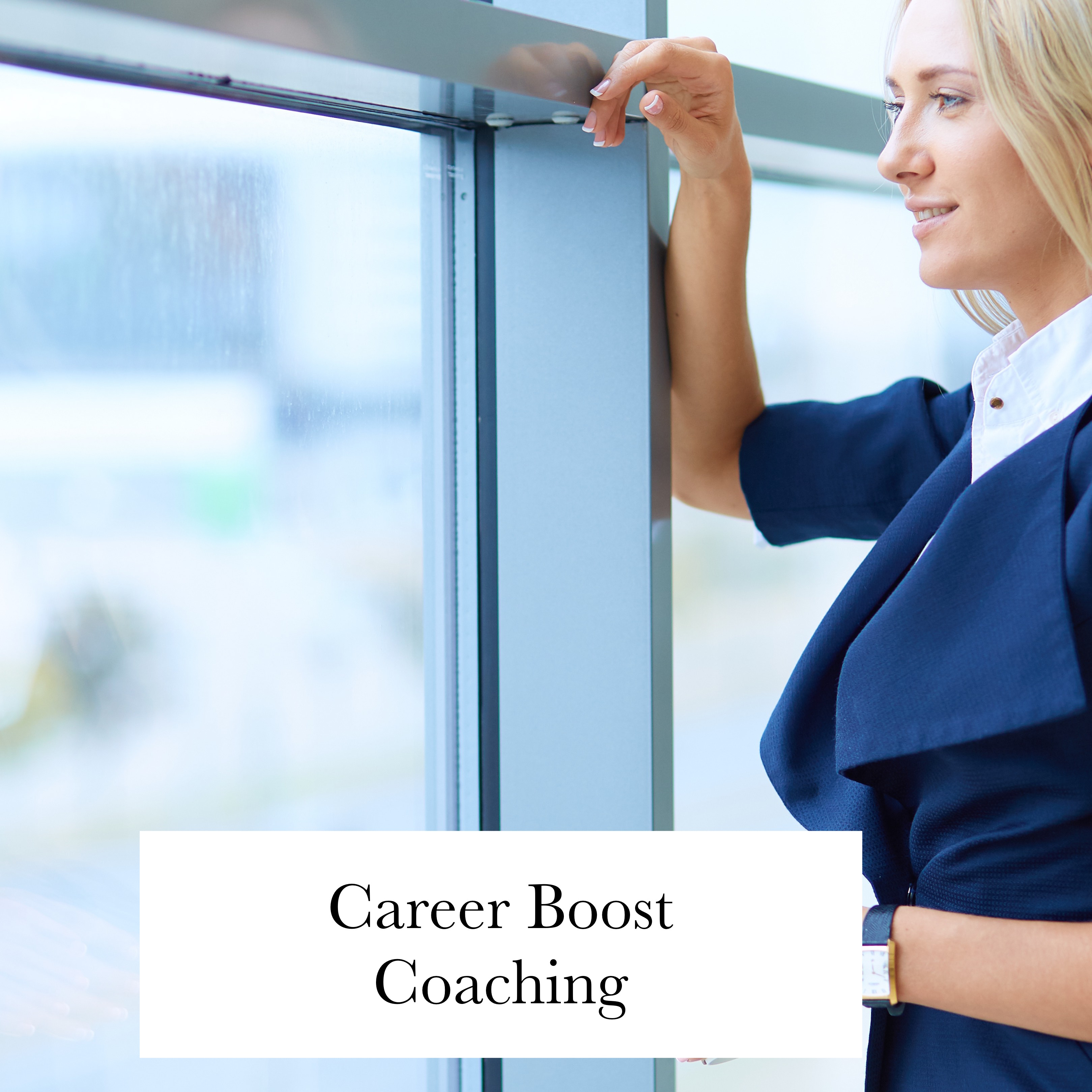 Career Coaching woman in London office