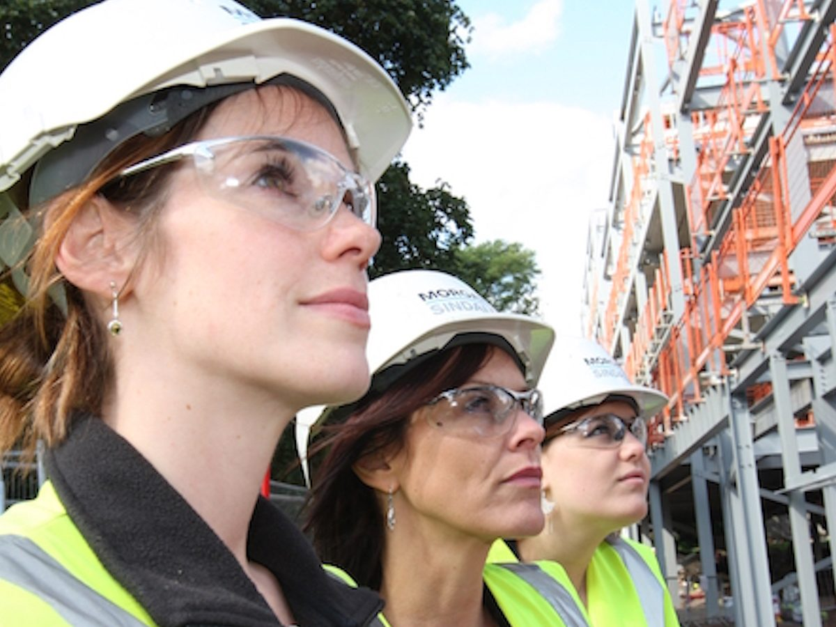Women returners at Morgan Sindall
