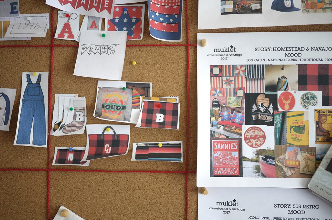 Laura Bonnell The Letterman Co Pinboard