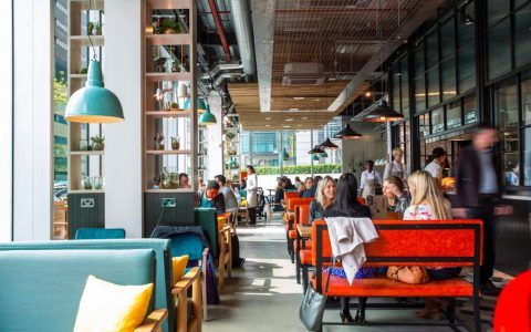 Kupp in Paddington for London meetings