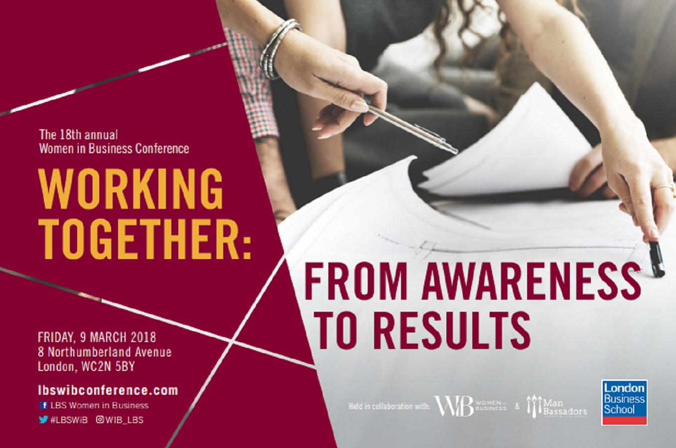 Career Progression: Kath Sloggett featured at London Business School Women In Business Conference